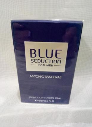Antonio banderas blue sedaction,мужская туалетная вода 100мл
