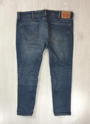 N8 джинсы зауженные синие levis 511 левайс левис