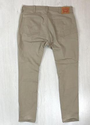 N8 джинсы классические бежевые levis 511 левис левайс