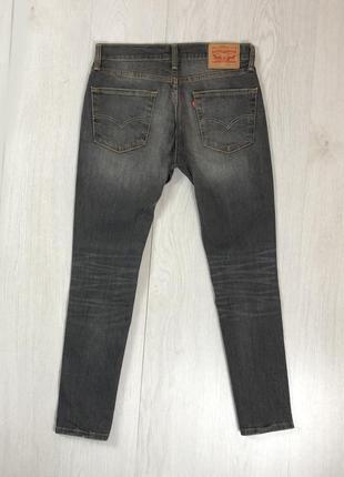 N8 джинсы зауженные levis 511 серый левис левайс