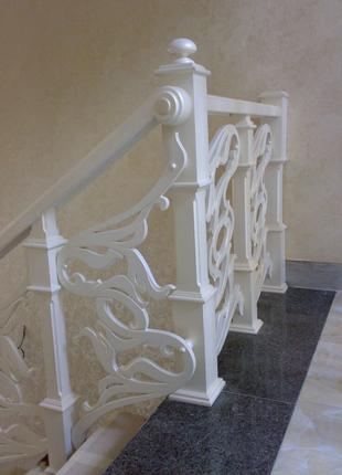 Виготовлення сходів з твердих порід дерева