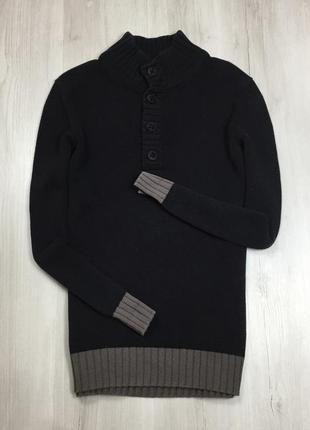F7 свитер черный hugo boss хуго босс хьюго бос кофта