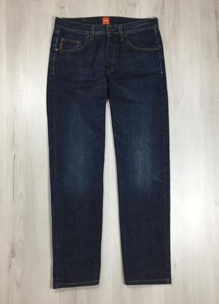 N9 джинсы классические темно-синие hugo boss хуго босс хьюго