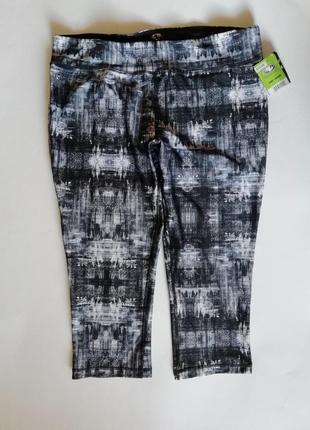 Спортивные штаны, компрессионные бриджи для фитнеса, лосины  a...