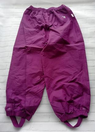 Детские брюки-дождевички (waterproof) на 5-6 лет