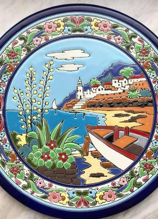 Тарелка сувенирная Испания, Тенерифе, 24 см