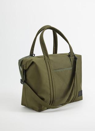 Холщовая сумка тоте mango man с карманами !