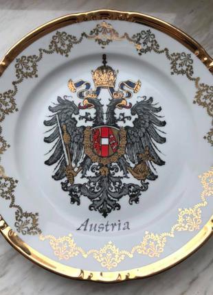 Тарелка сувенирная Австрия, 24 см