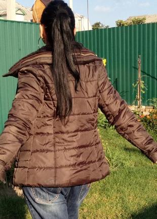 Куртка теплая с капюшоном, р. 36 - дания