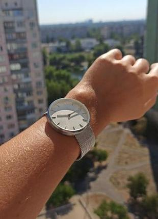 Наручные часы xiaomi кварцевые минимализм - steel silver