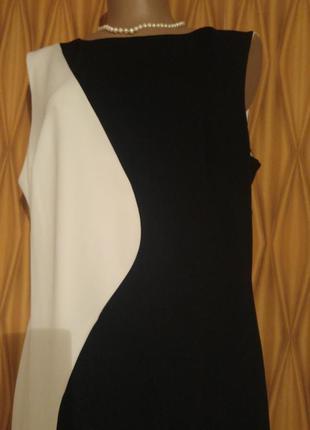 Шикарное платье black and white