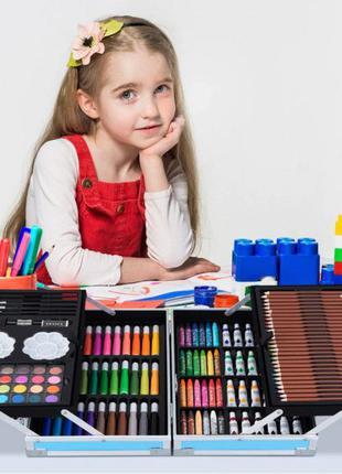 Детский набор для творчества рисования Мольберт 208 предмет в ...