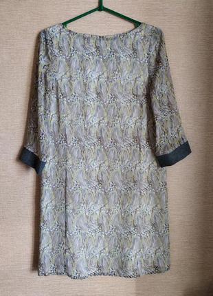 Шифоновое прямое платье сукня yargici