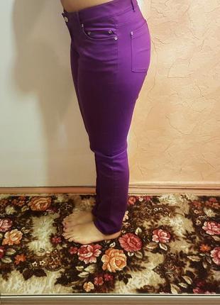 Штаны брюки top secret фиолетовые