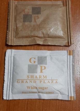 Пакетик с сахаром