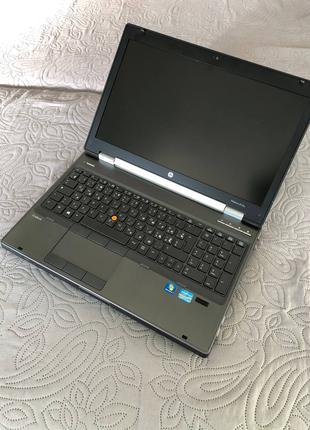 """Ігровий ноутбук HP EliteBook 8570w 15.6"""" Intel (R) Core (TM) i7-3"""