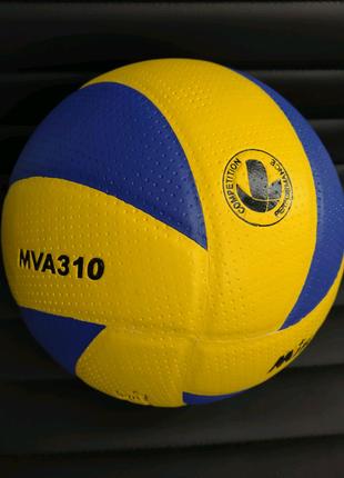 Мяч волейбольный клееный Mikasa MVA-310 м'ячі волейбольні
