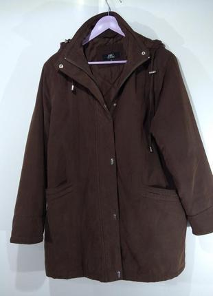 Женская утепленная куртка весна - осень
