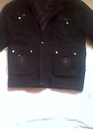 Куртка демисезонная, замшевая (Италия)