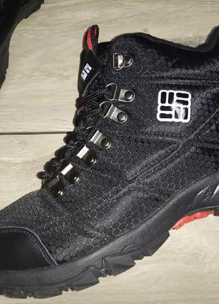 Термо ботинки мужские columbia waterproof 100 grams деми осень