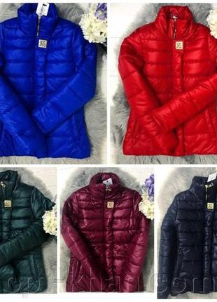 Куртка холодная осень теплая зима 42р!