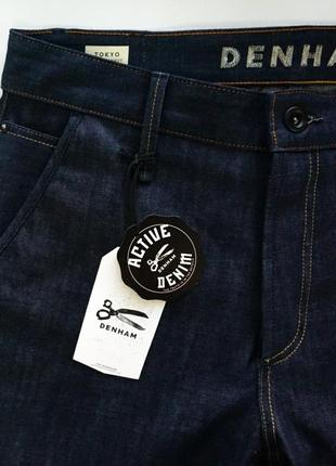Распродажа! джинсы denham tokyo vcoss selvage