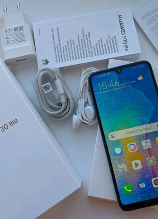 "Huawei P 30 Lite (4/128 Гб) 6.2"", NFC,  Комплект."