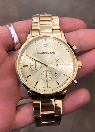 Наручные часы Emporio Armani QQ Gold Наручний годинник, часи