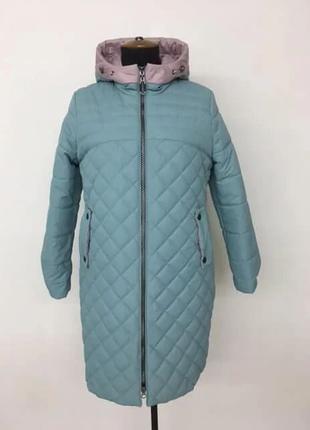Модная женская куртка Весна р 50-60 цвета