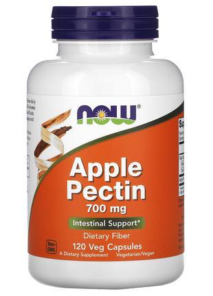 Яблочный пектин. Now Foods, apple pectin, 700 мг, 120 капсул