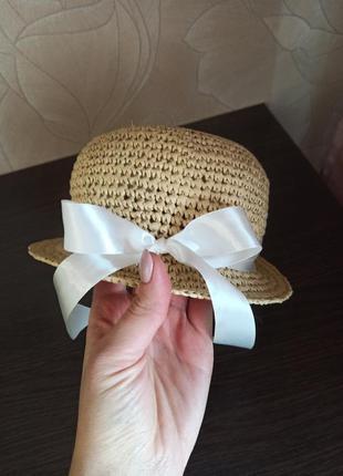 Шляпа детская ручная работа