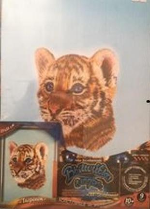 Картина для вышивания тигренок
