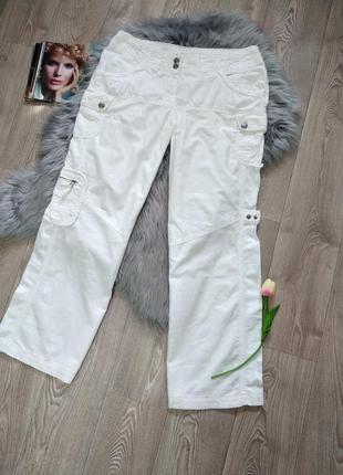Женские свободные натуральные брюки штаны хб лен
