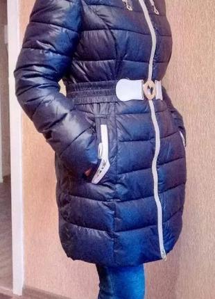 Зимняя куртка женская на синтепоне 46-48р.