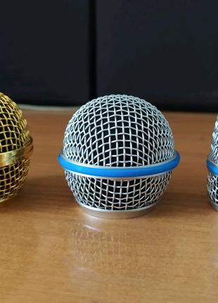 Сетка решетка для микрофона Shure Beta 57 SM 58 Шур сітка решітка