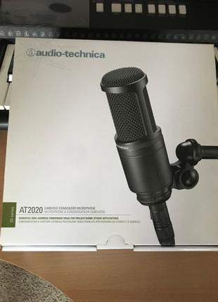 Микрофон конденсаторный Audio Technica AT2020
