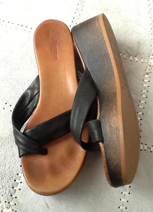 Распродажа летней обуви!!! шлепки кожа