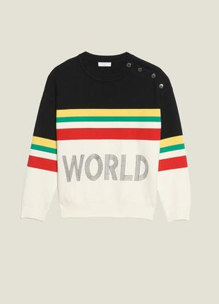 Фирменный свитер sandro paris world lovers