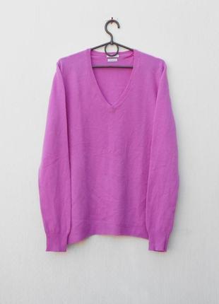 Мягкий осенний демисезонный шерстяной свитер с длинным рукавом 🌿