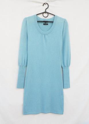 Шикарное осеннее зимнее теплое облегающее платье с длинным рук...