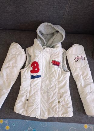 Куртка для девочки 10-11лет Трансформер