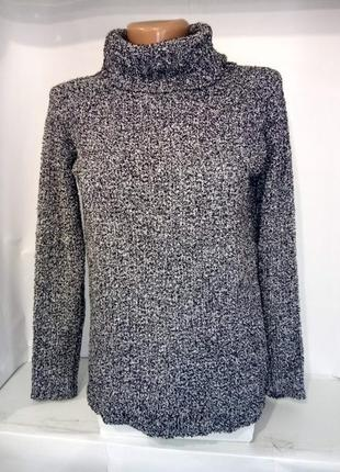 Кофта свитер мягкий с горловиной хомут atmosphere uk 6/34/xxs