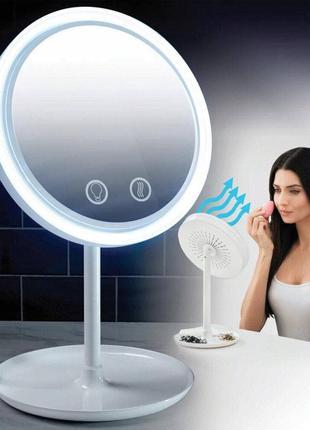 Зеркало с подсветкой и вентилятором
