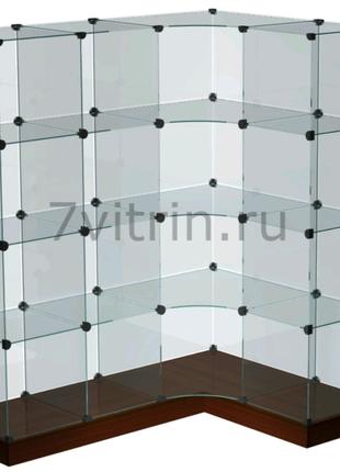 Стеклянная витрина. Торговая витрина