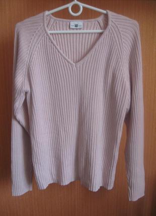 Кофта свитер джемпер пудровый стильный