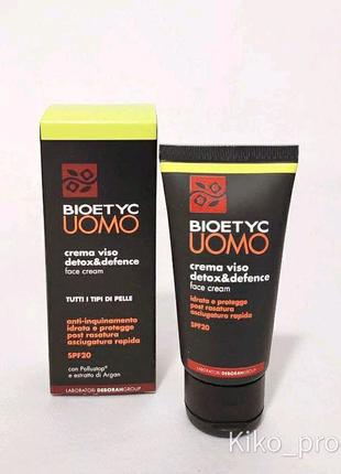 Чоловічий крем для обличчя Bioetyc Італія 50 ml