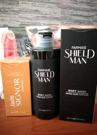 Набор мужской Фармаси Farmasi парфюмированная вода+гель для душа