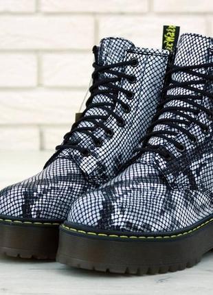 😍dr. martens jadon😍женские зимние кожаные ботинки/сапоги марти...