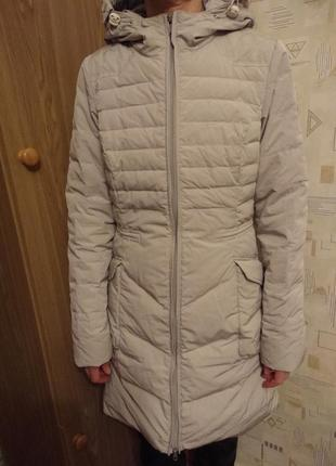 Пальто пуховик куртка пух bomboogie xs-s размер