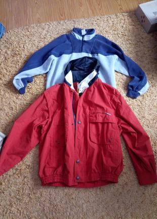Куртка ветровка жилетка sylt